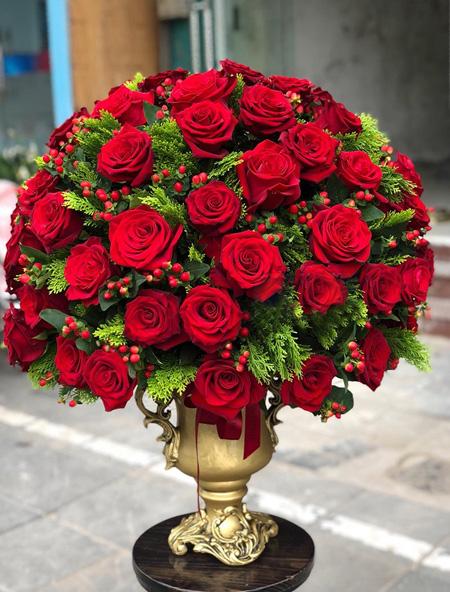 Hoa sinh nhật vợ đẹp nhất là hoa gì?