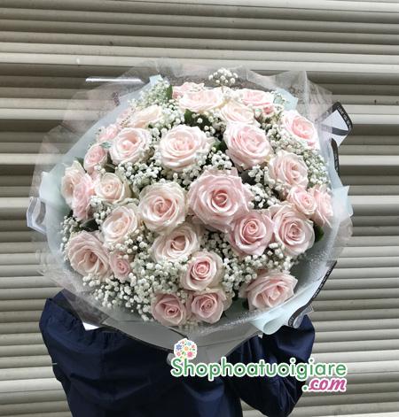 Mẫu hoa sinh nhật đẹp tặng bạn gái