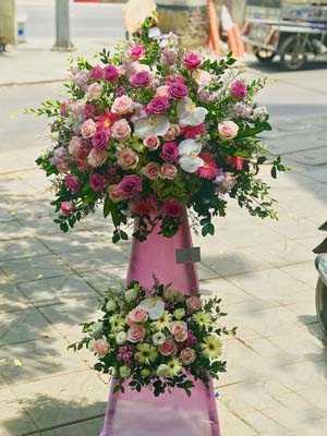 Hoa đẹp chúc mừng khai trương